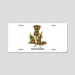 Thistle-MacMillan Aluminum License Plate