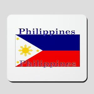 Philippines Filipino Flag Mousepad