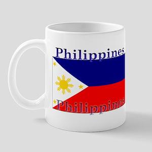 Philippines Filipino Flag Mug