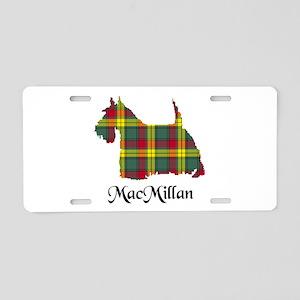 Terrier-MacMillan Aluminum License Plate