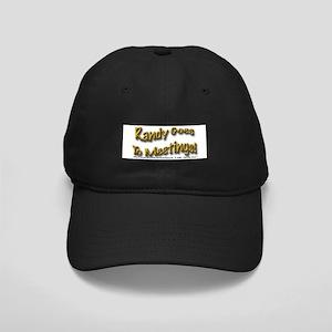 Meeting Wear Black Cap