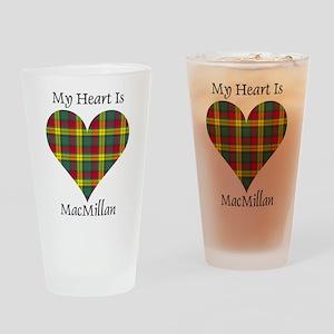 Heart-MacMillan Drinking Glass