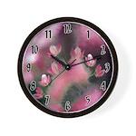 Cherry Tree Blossom Wall Clock