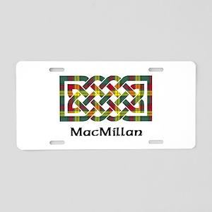 Knot-MacMillan Aluminum License Plate