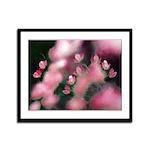 Cherry Tree Blossom Framed Panel Print