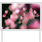 Cherry Tree Blossom Yard Sign