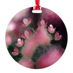 Cherry Tree Blossom Round Ornament