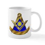 Masonic Past Master Mug with square