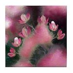 Cherry Tree Blossom Tile Coaster