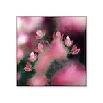 Cherry Tree Blossom Square Sticker 3