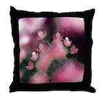 Cherry Tree Blossom Throw Pillow