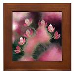 Cherry Tree Blossom Framed Tile