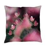 Cherry Tree Blossom Everyday Pillow