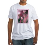 Cherry Tree Blossom Fitted T-Shirt