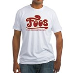FOOS - Be The Greatest - Fitted T-Shirt