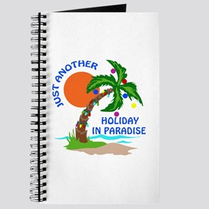 Holiday in Paradise Journal