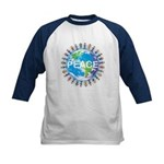 Kids World Peace Baseball Tee