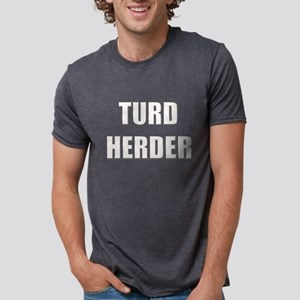 TURD HERDER BLACK layers T-Shirt