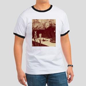 Verlaine with Absinthe White T-Shirt