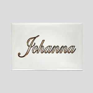 Gold Johanna Magnets