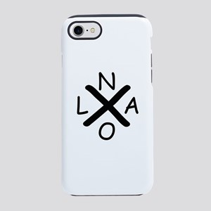 Hurrican Katrina X NOLA blac iPhone 8/7 Tough Case