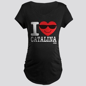 I LOVE CATALINA Maternity T-Shirt