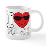 I LOVE BALBOA Mugs
