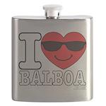 I LOVE BALBOA Flask
