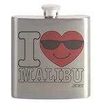 I LOVE MALIBU Flask