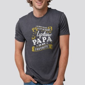 Papa Is My Favorite T Shirt, Father's T-Shirt