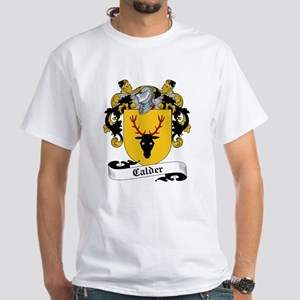 Calder Family Crest White T-Shirt