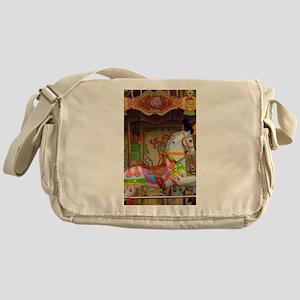 Carousel Horse Messenger Bag
