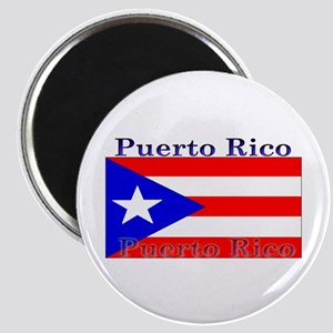 Puerto Rico Rican Flag Magnet