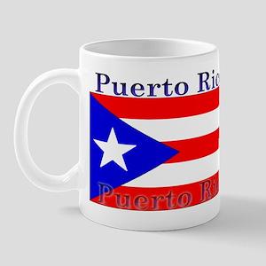 Puerto Rico Rican Flag Mug