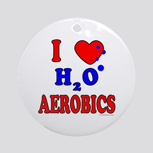 WATER AEROBICS Ornament (Round)