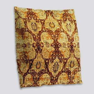 Indian Burlap Throw Pillow