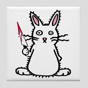 Psycho Bunny Tile Coaster