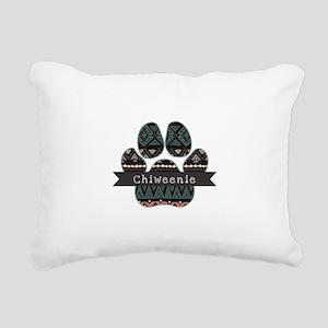 Chiweenie Rectangular Canvas Pillow