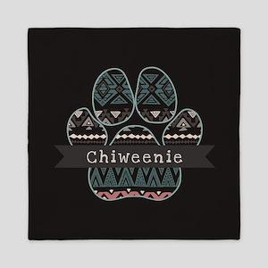 Chiweenie Queen Duvet