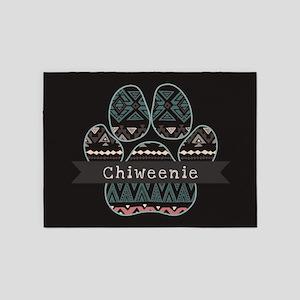Chiweenie 5'x7'Area Rug