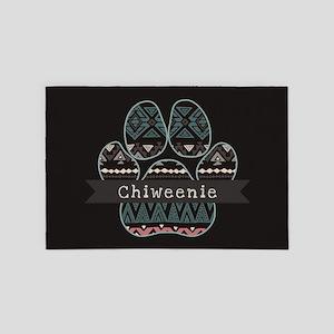 Chiweenie 4' x 6' Rug