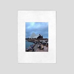 My Evening In Sydney 5'x7'Area Rug