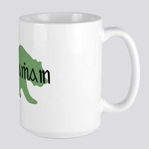Irish Gaelic Bear Large Mug