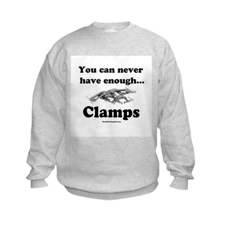Clamps Design #3 Kids Sweatshirt