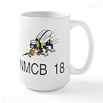 NMCB 18 Large Mug