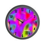 Colorful Wall Clock Design 1