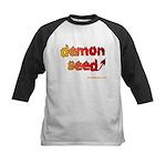 demon seed Kids Baseball Jersey