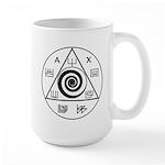 Olympian Spirits 15 Oz Ceramic Large Mug Mugs