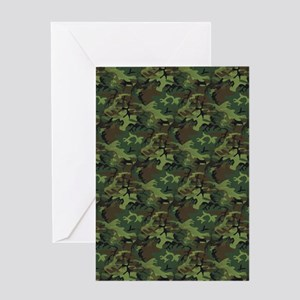 Camouflage Greeting Cards