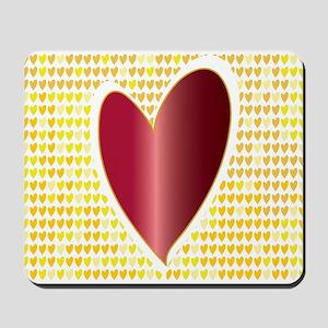 MEN LOVE 2 Mousepad